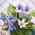 Spring Flowers by Irina Sztukowski