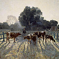 Spring Frost by Elioth Gruner