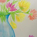 Spring In A Vase by Gail Nandlal