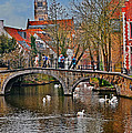 Spring In Bruges by Elvis Vaughn