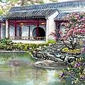 Spring In Dr. Sun Yat-sen Gardens by Eileen  Fong