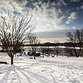 Spring Is Buried Just Below The Snow by Edward Kreis