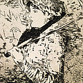 Spring   Jeanne by Edouard Manet
