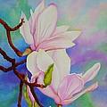 Spring Magnolia by Carol Sabo