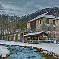 Spring Mill  by Michael J Samuels
