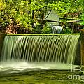 Spring Mill Spillway by Adam Jewell