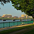 Spring Morning By The Charles River by Ken Stampfer