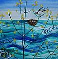 Spring On Lake Ontario by Veronica Rickard