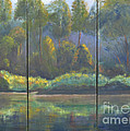 Spring On The Coosa  by Patricia Caldwell