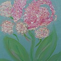 Spring Pink Flowers 1 by Bobbi Groves