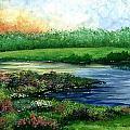 Spring Pond by Steven Schultz