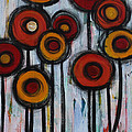 Spring Poppies II by Molly Roberts