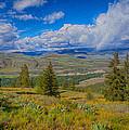 Spring Rain Across A Valley by Omaste Witkowski