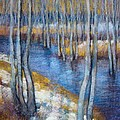 Spring River Thaw by Tonja  Sell