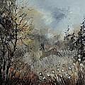 Spring Roe Deer by Pol Ledent