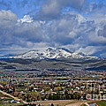 Spring Snow On Squaw Butte by Robert Bales