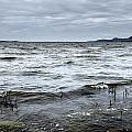 Spring Storm On Lake Champlain by Arkady Kunysz