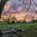 Spring Sunset by Bill Wakeley