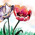 Spring Tulips by Jan Leppert