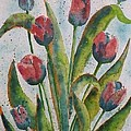 Spring Tulips by Wendy Diane Morris