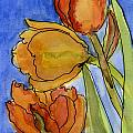 Spring Tulips by Wendy Le Ber