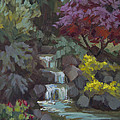 Spring Waterfall by Diane McClary