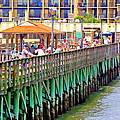 Springmaid Beach Pier 2006 by Joseph C Hinson Photography