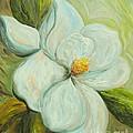 Spring's First Magnolia 2 by Eloise Schneider Mote