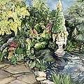springtime at the Allan gardens by Alfred Ng