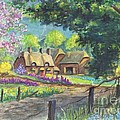 Springtime Cottage by Carol Wisniewski
