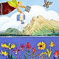Springtime In The Rockies by Virginia Ann Hemingson