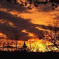 Springtime Sunset by Gene Cyr
