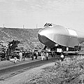 Spruce Goose Hull On The Move by Underwood Archives