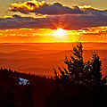 Spruce Knob Sunset II by Brian Simpson