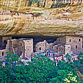 Spruce Tree House On Chapin Mesa In Mesa Verde National Park-colorado  by Ruth Hager