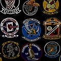 Squadron Patch Collage by See My  Photos