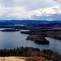 Squam Lake New Hampshire by Mim White
