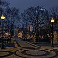 Square In Regina by Viktor Birkus