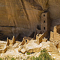 Square Tower House At Mesa Verde by Gene Norris