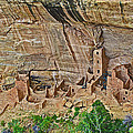 Square Tower House On Chapin Mesa Top Loop Road In Mesa Verde National Park-colorado by Ruth Hager