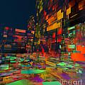 Squarecity1 by Susanne Baumann