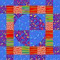 Squares Lines Dots Symbol Infinity Red Purple Blue Green Colorful Waves Unique Background Designs  A by Navin Joshi