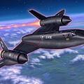 Sr-71 Blackbird by Stu Shepherd