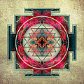 Sri Yantra  by Filippo B