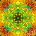 Sri Yantra Variation Mandala by Susan Bloom