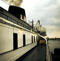 S.s. Badger Car Ferry by Michelle Calkins
