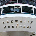 S.s. Keewatin Stern by Michelle Calkins