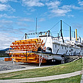 Ss Klondike Sternwheeler From Stern On The Yukon River In Whitehorse-yk by Ruth Hager