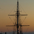 S S V  Corwith Cramer In Key West by Ed Gleichman