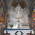 St. Aignan Church Altar by Deborah Smolinske